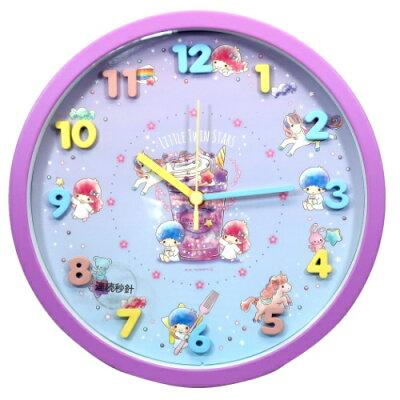 アイコン ウォールクロック 壁掛け時計 リトルツインスターズ キキ&ララ 2020SS サンリオ ツジセル 新生活準備雑貨 プレゼント 通販