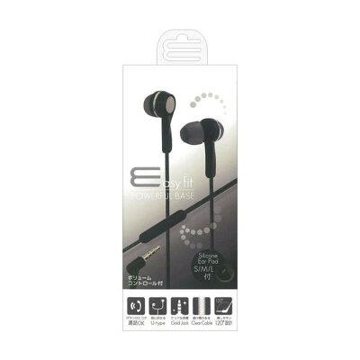 OSMA iPhone/スマートフォン用ステレオイヤホンマイク ESM-SP379BK