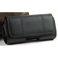 オズマ 携帯電話用横型 Mサイズ ブラック CHB-PL01KK(1コ入)