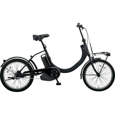 パナソニック Panasonic 20型 電動アシスト自転車 SW(マットジェットブラック/シングルシフト) BE-ELSW012019年モデル