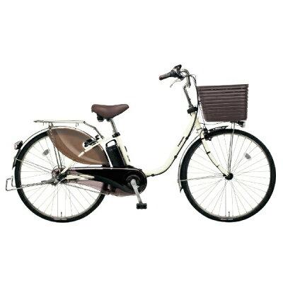 パナソニック Panasonic 26型 電動アシスト自転車 ビビ・DX(オフホワイト/内装3段変速)BE-ELD635F22019年モデル