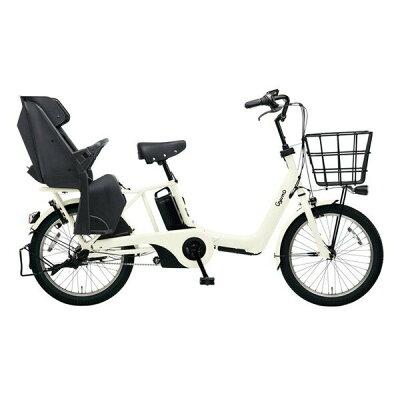 パナソニック Panasonic 20型 電動アシスト自転車 ギュット・アニーズ・SX(オフホワイト/内装3段変速)BE-ELAS03F2019年モデル