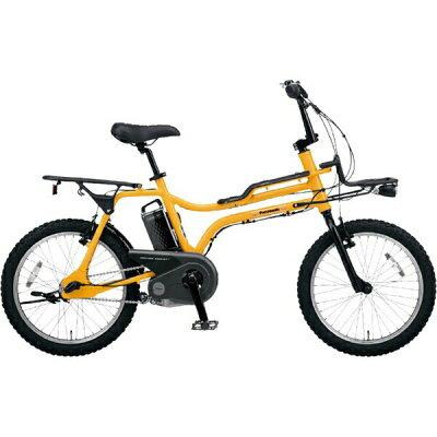 パナソニック Panasonic 20型 電動アシスト自転車 EZ タンカーイエロー/内装3段変速 BE-ELZ033Y
