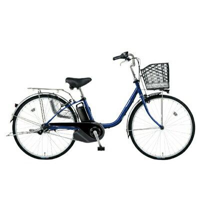 Panasonic 24型 電動アシスト自転車 ビビ・SX(Pファインブルー) BE-ELSX432V
