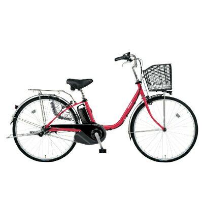 Panasonic 26型 電動アシスト自転車 ビビ・SX(レッドジンジャー) BE-ELSX632R