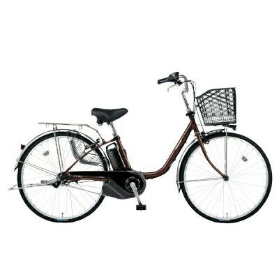 Panasonic 26型 電動アシスト自転車 ビビ・SX(チョコブラウン) BE-ELSX632T