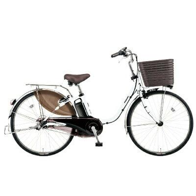 Panasonic 24型 電動アシスト自転車 ビビ・DX(アクティブホワイト) BE-ELD436F