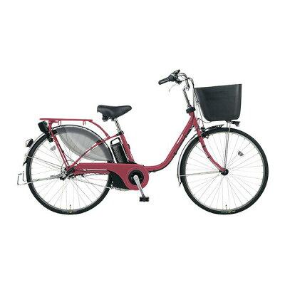 パナソニック Panasonic 26型 電動アシスト自転車 ビビ・EX マットルージュ/内装3段変速 BE-ELE636R