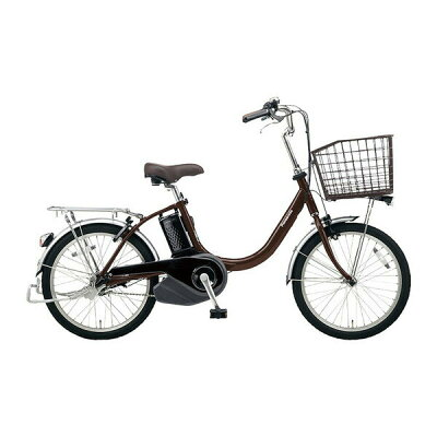 Panasonic 20型 電動アシスト自転車 ビビ・L・20(チョコブラウン) BE-ELL032T