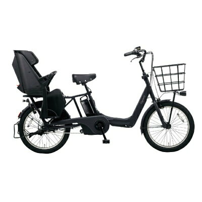 パナソニック Panasonic 20型 電動アシスト自転車 ギュット・アニーズ・DX マットジェットブラック BE-ELAD032B