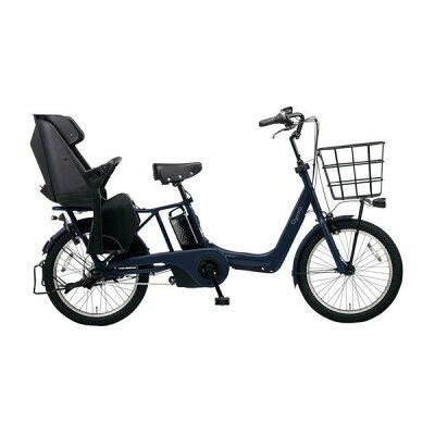 パナソニック Panasonic 20型 電動アシスト自転車 ギュット・アニーズ・DX マットネイビー BE-ELAD032V