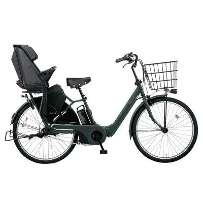 Panasonic 26型 電動アシスト自転車 ギュット・アニーズ・DX・26(マットディープグリーン) BE-ELAD632G2