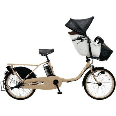 パナソニック Panasonic 20型 電動アシスト自転車 ギュット・クルーム・EX マットマロンベージュ/内装3段変速 BE-ELFE032AT