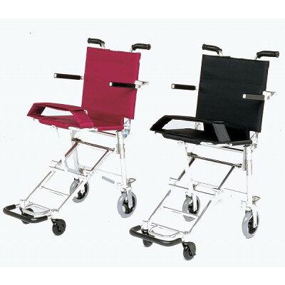 簡易車椅子 携帯車いす NAH-207 超軽量 ワンタッチ折りたたみ式 日進医療器 車イス