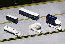 1/200 Gemini200 デルタ航空 空港サービス車両、トラックセット ジェミニ