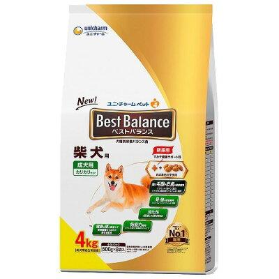ベストバランス 柴犬用(4kg)