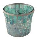 キャンドルスタンド キャンドルホルダー キャンドルグラス アンティーク ガラス モザイクカップ モザ