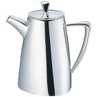三宝産業 UK18-8トライアングルシリーズ コーヒーポット 5人用 PTL7701