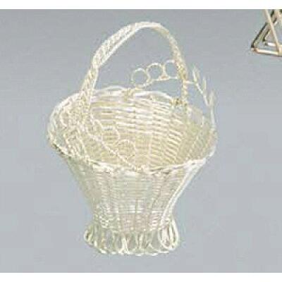 手編みバスケット フラワーバスケット S 03411150