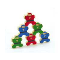 のりのり忍者(木製玩具)