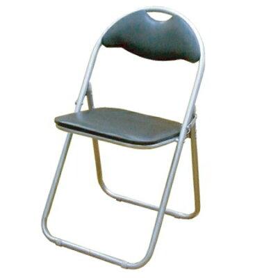 折りたたみパイプ椅子(ブラック) SC99007