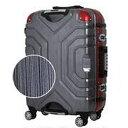 シフレ TSAロック搭載スーツケース 148L B5225T-82 ブラック/レッド