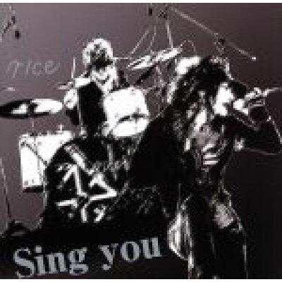 Sing you(初回限定盤)/CDシングル(12cm)/YURO-016
