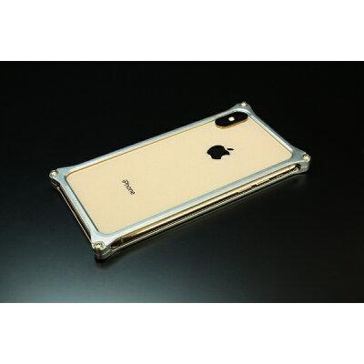 GILDDESIGN ギルドデザイン ソリッドバンパー for iPhoneXS MAX シルバー GI-423S