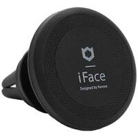HAMEE iFace First Classケース用 iPhone 7 / iPhone 7 Plus用 iFace PREMIUM MAGNETIC CAR MOUNT AIR VENT TYPE マグネット カーマウント ブラック