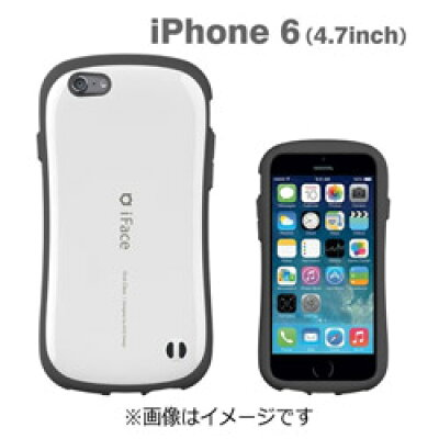 Hamee IFACE FIRST CLASS スマートフォンケース IP6 WH