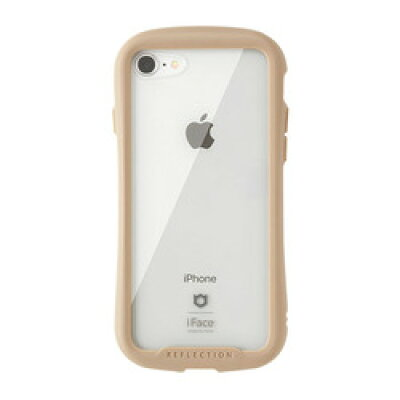 Hamee IFACE REFLECTION CLEAR CASE IP iPhone 8/7専用 強化ガラスクリアケース