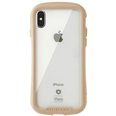 Hamee IFACE REFLECTION CLEAR CASE IP iPhone XS/X専用強化ガラスクリアケース