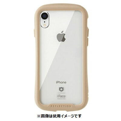Hamee IFACE REFLECTION CLEAR CASE IP iPhone XR専用強化ガラスクリアケース