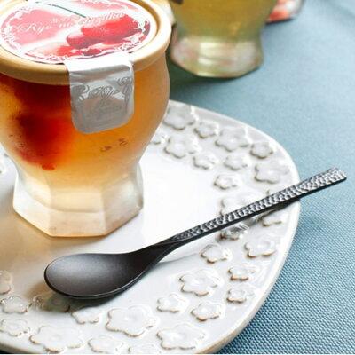 槌目カトラリー クロ コーヒースプーン