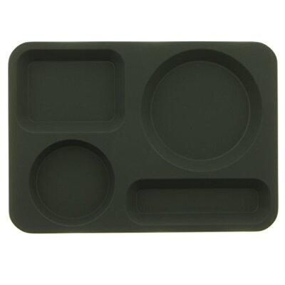 高桑金属 18-8ステンレス カフェトレイ ブラック 406661
