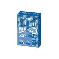 アスカ ラミネーター専用フィルム 診察券小 サイズ 100μ BH911 1パック100枚