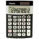 アスカ 消費税電卓 Sサイズ Asmix C1226BK