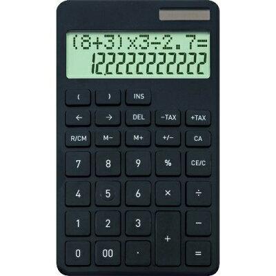 アスカ 計算式表示電卓 Asmix C1242BK