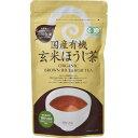 小川生薬 国産有機玄米ほうじ茶 40g