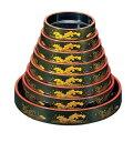 DX富士桶 グリーンパール大波 61020120 9寸 RFKB303
