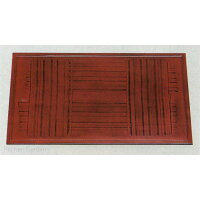 木製太渕長手盆根来格子(A-4-7)