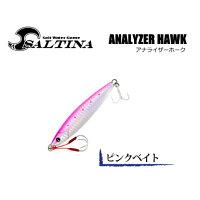 かめや SALTINA アナライザーホーク ピンクベイト / 30g KAG-02 ANALYZER HAWK / メタルジグ