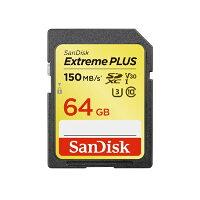 SanDisk エクストリーム プラス SDカード SDSDXW6-064G-JNJIP