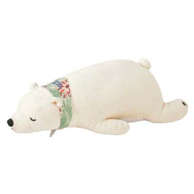 シロクマ ラッキー ねむねむクール 抱き枕 Mサイズ