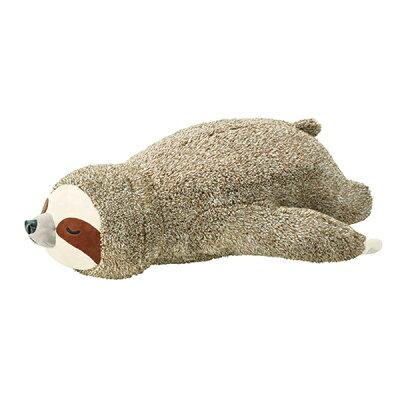 ナマケモノ 寝そべり 抱きまくら L クッション