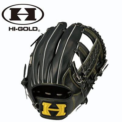 ハイゴールド 軟式 グローブ グラブ 己極 三塁手用 オールポジション用 OKG-6815