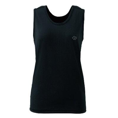 コラントッテ Colantotte タンクトップメッシュ ブラック Sサイズ (胸囲約70~80cm)/無地
