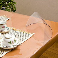柘産業 日本製 透明抗菌テーブルマット 2mm厚 表面抗菌加工・裏面非転写加工 約900×1650長 TK2-1659 1145247