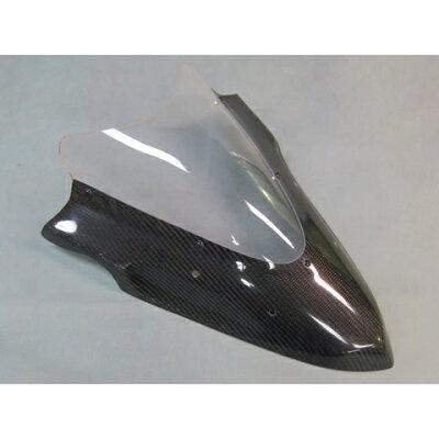 A-TECH エーテック エアロスクリーン スクリーンカラー:スモーク 素材:カーボンケブラー C K Ninja650 12- Ninja400 14-