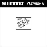 シマノ BRM985 メタルパッド G03Ti &オサエバネ 単位:クミ